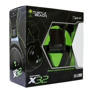 TURTLE BEACH EAR FORCE X32 WIRELESS HEADSET FOR XBOX 360.NEW  Re