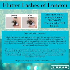 Flutter Lashes of London London Ontario image 3