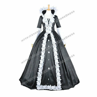 Once Upon A Time Season 4 Cosplay Finale Evil Snow White Dress Costume Halloween](4 Season Halloween Costumes)