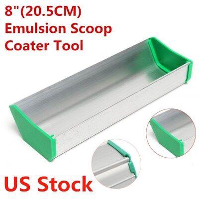 Us Stock 8 Dual Edge Emulsion Scoop Coater Silk Screen Printing Coating Tool