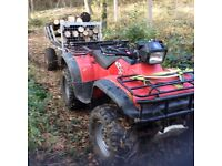 Wanted quad bike with towbar