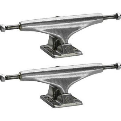 5.0 Hanger 7.62 Axle Bullet Skateboards 145mm Polished Trucks with 53mm OJ Wheels /& Bearings Combo Set of 2