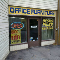 HUGE SELECTION OF OFFICE FURNITURE