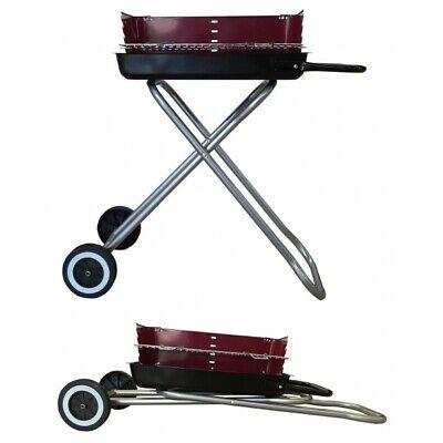 Barbacoa con ruedas plegable 68 x 33 cm. 5211