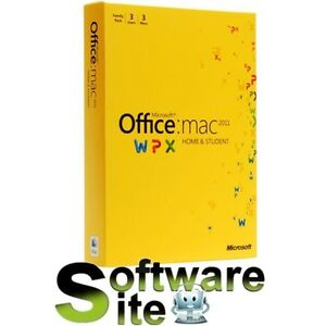 Microsoft® Office  MAC 2011 HOME & and STUDENT 3PC Family Pack Tax Invoice