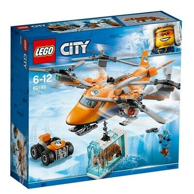 New LEGO City Arctic Air Transport Expedition Quadrocopter Helicopter set 60193