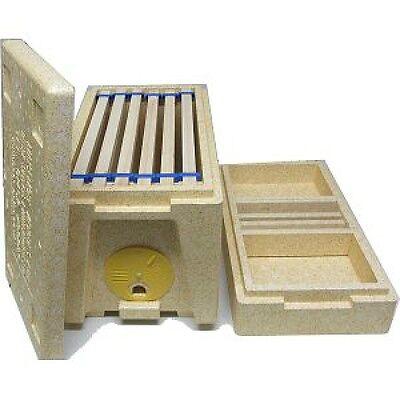 Nat Poly 6 Frame Nuc Box - Free P&P -  ABELO