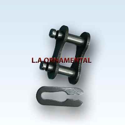 Roller Chain Parts Master Connecting Link # 41 Steel Gate Openers Chain parts ()