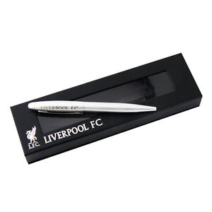 OFFICIAL LIVERPOOL FC LFC EXECUTIVE ETCHED BALL POINT PEN SOUVENIR NEW GIFT XMAS