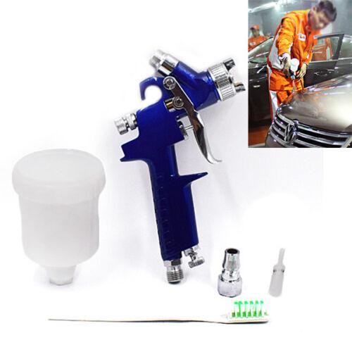 Mini Air Spray Gun Car Body Detail Touch Up Coat Paint Sprayer Repair HVLP Trim
