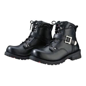 Z1R - Trekker Leather Motorcycle Boots - Mens Size 8.5