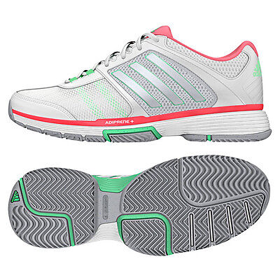 NEW~Adidas PERFORMANCE BARRICADE TEAM 4 Tennis Shoe Adi Trainer gym~Womens sz 10
