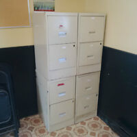 2-drawer file cabinets