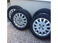 """Ford Focus 15"""" set of 4 Alloy wheels 108pcd"""