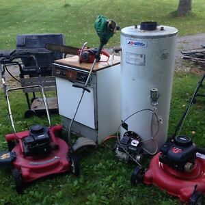 I WANT YOUR SCRAP METAL AND APPLIANCES FOR RECYCLING ITS FREE