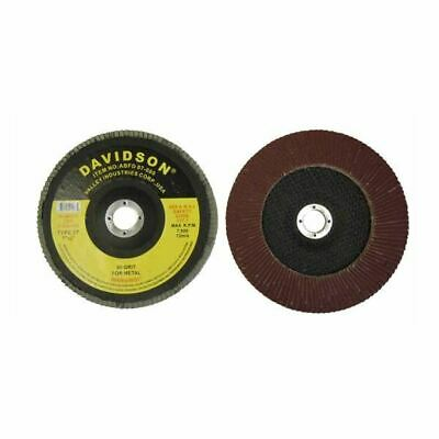 7 Flapper Flap Sanding Wheel Disc 80 Grit For Sander Grinder