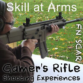 Adrenalin Inside! Live Gamers Rifle Shooting Experiences Birthday Gift Treat Anniversary Present