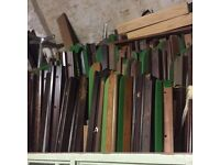 LENGTHS SOLID TIMBER WOOD PROJECTS FIREWOOD ETC, lengths of solid mahogany. Six feet long,