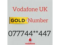 Gold number Vodafone network