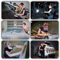 INK&IRON all female auto body repair shop