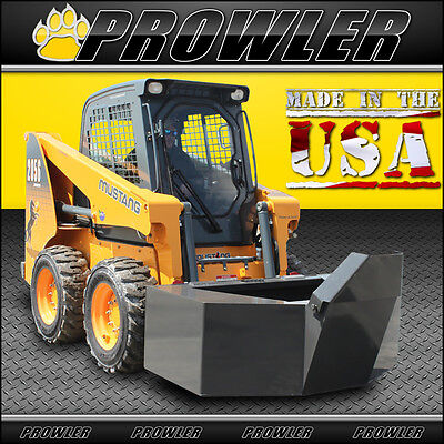 Prowler 12 Yard Cement And Concrete Bucket With Spout For Skid Steer Loaders