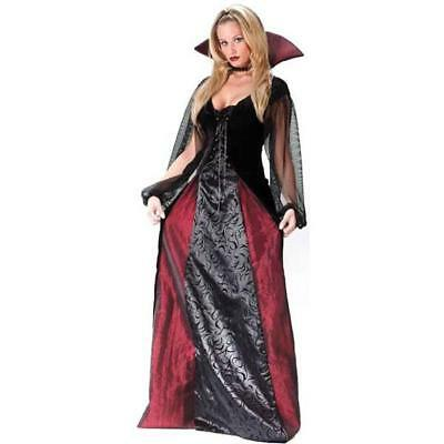 Adult Goth Maiden Vampiress Costume Vampire Plus Size Costume Size 16W-20W - Vampire Costume Plus Size
