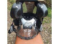 Fox motocross body armour