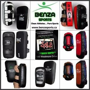 Thai Pads, Kicking Pads, Boxing Pads, Kicking Targets, Focus Pads On Sale Only @ Benza Sports