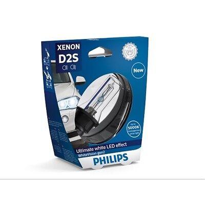 PHILIPS Xenon WhiteVision gen2 D2S 85V 35W P32d-2 1er Blister - 85122WHV2S1