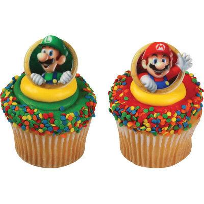 Mario Kart Birthday (New Mario and Luigi Cupcake Rings Mario Kart One)
