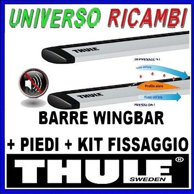 KIT BARRE PORTATUTTO THULE WINGBAR VOLKSWAGEN Tiguan 5-p SUV 2016> Barre Longitu