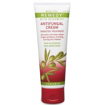 Medline Remedy Antifungal - Medline Remedy Antifungal Cream with Olivamine 4oz tube