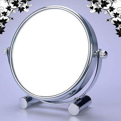 LUXUS DOPPEL Kosmetikspiegel Nomal+7Fach, für Rasieren, Makeup, Reise, WM-EI-7