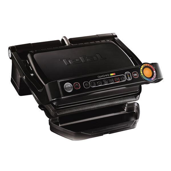 Tefal GC 7128 Optigrill+ Kontaktgrill Elektrogrill 2000W 6 Grillprogramme
