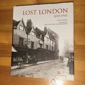 Book - Lost London 1870 - 1945. ISBN: 978-09557949-8-8