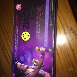 Zumba DVD set with weights  Peterborough Peterborough Area image 1