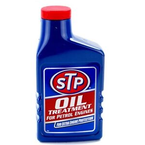 STP Oil Treatment 450ml For Petrol Engines Engine Protection Large