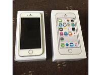 Apple iPhone 5S Silver 16GB ***AS NEW MINT***11 Months Apple Warranty***