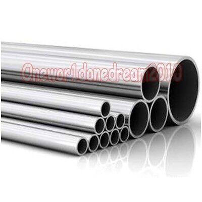 1x Titanium Grade 2 Gr.2 Tube Tubing Od 60mm X 58mm Id Wall 1mm Length 250mm