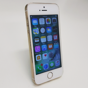 AS NEW IPHONE 5S 64GB SLIVER/GOLD COLOUR