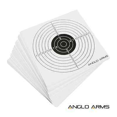 50 x CARD TARGETS AIR RIFLE PISTOL HUNTING SHOOTING PRACTICE 177 22 BB
