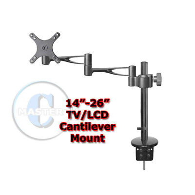 HEIGHT ADJUST DISPLAY TILT SWIVEL TABLE DESKTOP STAND MOUNT LCD LED MONITOR TV Tilt-swivel Stand