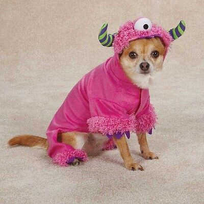 Dog Puppy Halloween Costume - Pink Monster Paws - XS XSmall (Dog Halloween Costumes Monster)