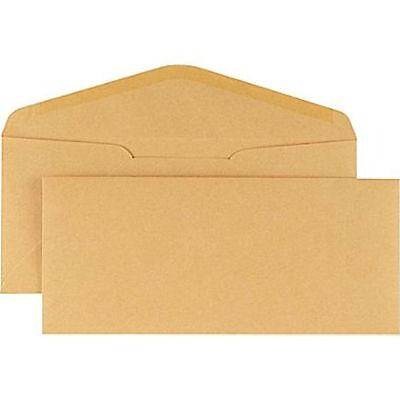 Brown Kraft Business Envelopes 4-34 X 11 50 Envelopes 12 Business Size