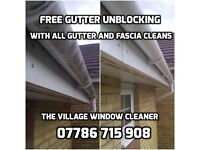 GUTTER, FASCIA, SOFFIT CLEAN, CLEAR COVENTRY, RUGBY, KENILWORTH, BEDWORTH, NUNEATON, HINCKLEY