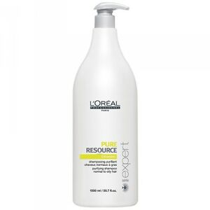 L'OREAL Pure Resource Shampoo 1500ml including PUMP