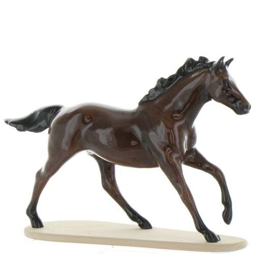 Hagen Renaker Miniature Horse Thoroughbred Seabiscuit Ceramic Figurine Boxed