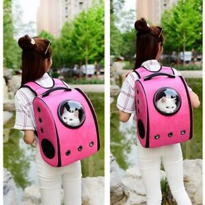Bubble Window Pet Travel Backpack for Cats and Dogs