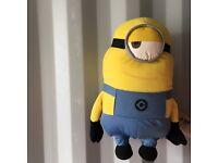 Minions Stuart soft toy