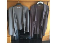 Two ladies wool cardigans. CAN BE BOUGHT SEPARATELY.